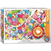 Cookie Party 1000 Pieces|Eurographics Jigsaw